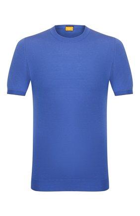 Мужской хлопковый джемпер SVEVO синего цвета, арт. 4650/3SE20/MP46   Фото 1