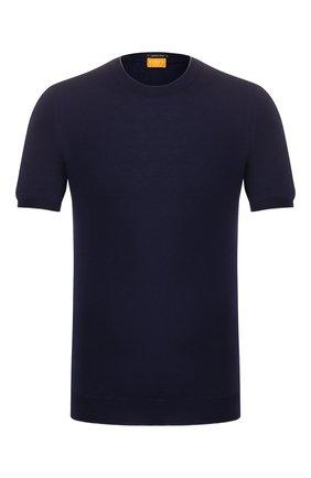 Мужской хлопковый джемпер SVEVO темно-синего цвета, арт. 4650/3SE20/MP46 | Фото 1