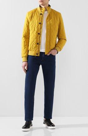 Мужские джинсы MARCO PESCAROLO синего цвета, арт. NERAN0M/41J18 | Фото 2