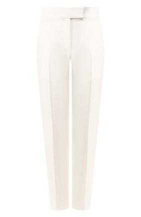 Женские брюки из вискозы HELMUT LANG кремвого цвета, арт. J09HW201 | Фото 1