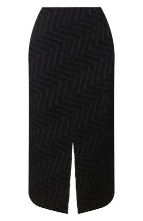 Женская юбка ROLAND MOURET черного цвета, арт. PS20/S0792/F0386   Фото 1