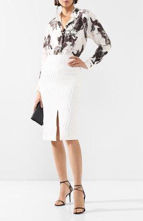 Женская юбка ROLAND MOURET белого цвета, арт. PS20/S0792/F0386 | Фото 2