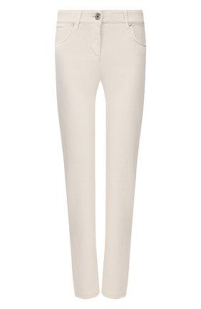 Женские джинсы BRUNELLO CUCINELLI кремвого цвета, арт. MH137P5495 | Фото 1