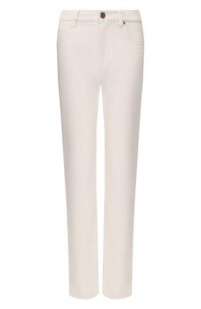 Женские джинсы BRUNELLO CUCINELLI светло-серого цвета, арт. M0H43P5525 | Фото 1