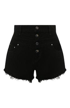 Женские джинсовые шорты AMIRI черного цвета, арт. Y0W11473DE | Фото 1