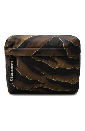 Женская поясная сумка DSQUARED2 коричневого цвета, арт. BBW0016 11702825 | Фото 1