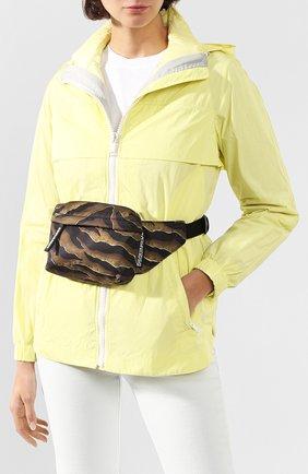 Женская поясная сумка DSQUARED2 коричневого цвета, арт. BBW0016 11702825 | Фото 2
