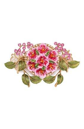 Женская заколка для волос DOLCE & GABBANA розового цвета, арт. WHM2F2/W1111   Фото 1