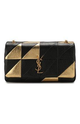 Женская сумка jamie medium SAINT LAURENT золотого цвета, арт. 515821/0DS17 | Фото 1