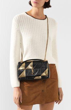 Женская сумка jamie medium SAINT LAURENT золотого цвета, арт. 515821/0DS17 | Фото 2