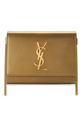 Женская сумка kate SAINT LAURENT золотого цвета, арт. 593122/03X0J | Фото 1