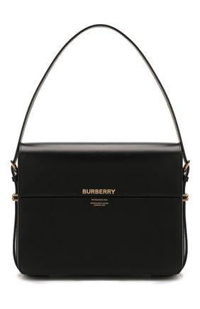 Женская сумка grace large BURBERRY черного цвета, арт. 8026218   Фото 1