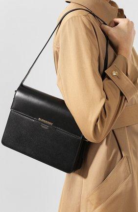 Женская сумка grace large BURBERRY черного цвета, арт. 8026218   Фото 2
