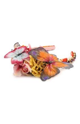 Женский ободок для волос DOLCE & GABBANA разноцветного цвета, арт. FY339Z/GDU25 | Фото 2