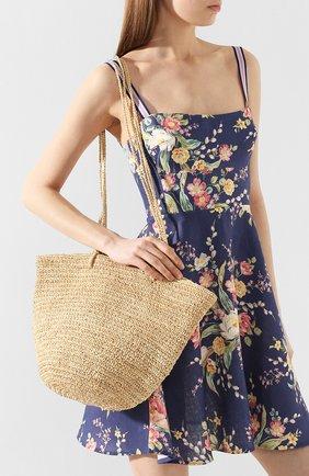 Женская сумка noosa SANS-ARCIDET бежевого цвета, арт. N00SA BAG | Фото 2