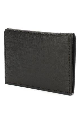 Женский кожаный футляр для кредитных карт OFF-WHITE черного цвета, арт. 0WNC009R204230731001 | Фото 2