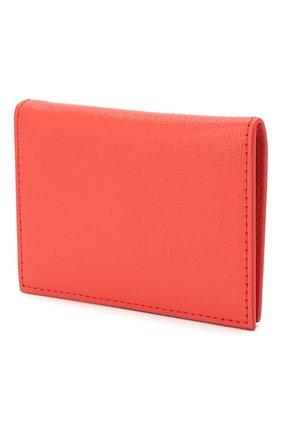 Женский кожаный футляр для кредитных карт OFF-WHITE красного цвета, арт. 0WNC009R204230732130 | Фото 2