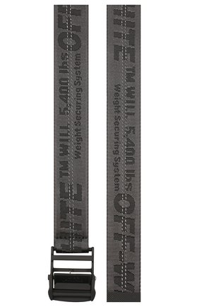 Женский ремень industrial OFF-WHITE черного цвета, арт. 0WRB009R202230751010 | Фото 2