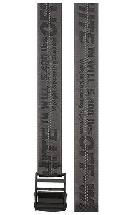Женский ремень industrial OFF-WHITE черного цвета, арт. 0WRB011R202230751010 | Фото 2