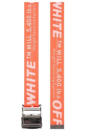 Женский ремень industrial OFF-WHITE оранжевого цвета, арт. 0WRB011R202230752727 | Фото 2
