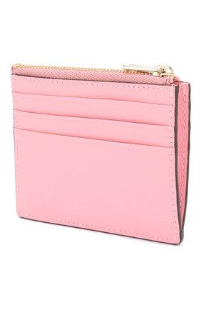 Женский кожаный футляр для кредитных карт babylon FURLA розового цвета, арт. PCZ3/B30 | Фото 2