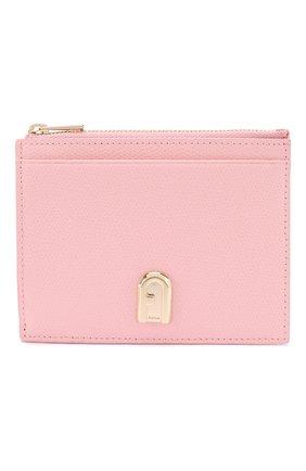 Женский кожаный футляр для кредитных карт 1927 FURLA розового цвета, арт. PCW7/ARE | Фото 1