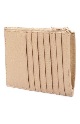 Женский кожаный футляр для кредитных карт 1927 FURLA бежевого цвета, арт. PCW7/ARE | Фото 2