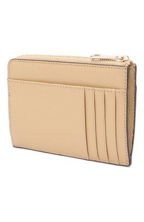 Женский кожаный футляр для кредитных карт babylon FURLA бежевого цвета, арт. PCZ4/B30 | Фото 2