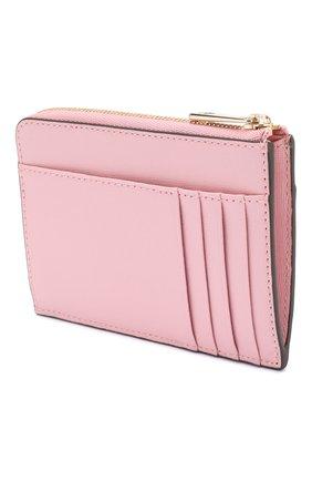 Женский кожаный футляр для кредитных карт babylon FURLA розового цвета, арт. PCZ4/B30 | Фото 2