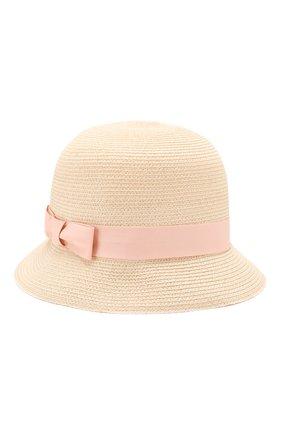 Детская шляпа LORO PIANA розового цвета, арт. FAL0234 | Фото 1