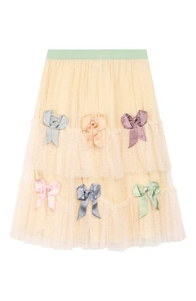 Детская юбка GUCCI бежевого цвета, арт. 590599/ZACXZ | Фото 1