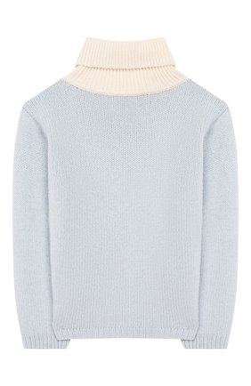 Детский шерстяной свитер GUCCI голубого цвета, арт. 592530/XKA5I | Фото 2