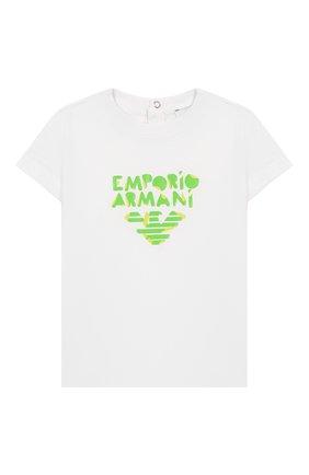 Детский комплект из трех футболок EMPORIO ARMANI разноцветного цвета, арт. 3HHD01/4J09Z   Фото 5