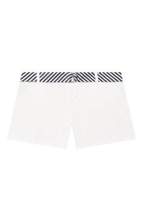 Детские хлопковые шорты POLO RALPH LAUREN белого цвета, арт. 313786044 | Фото 1