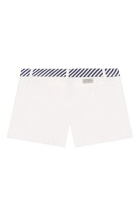 Детские хлопковые шорты POLO RALPH LAUREN белого цвета, арт. 313786044 | Фото 2