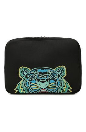 Мужская текстильная сумка для ноутбука KENZO черного цвета, арт. FA55SF308F20 | Фото 1