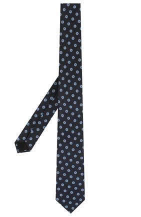 Мужской шелковый галстук DOLCE & GABBANA темно-синего цвета, арт. GT149E/G0JLM | Фото 2