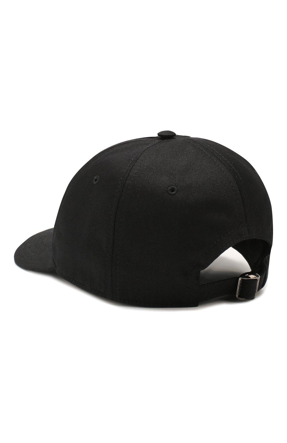 Мужской хлопковая бейсболка VALENTINO черного цвета, арт. TY0HDA10KJC | Фото 2