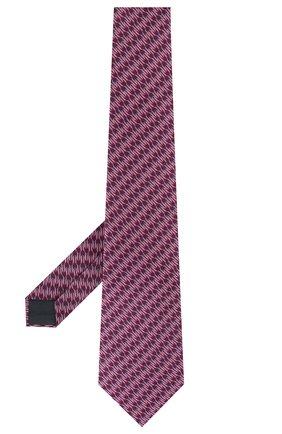 Мужской шелковый галстук LANVIN фиолетового цвета, арт. 2837/TIE | Фото 2