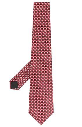 Мужской шелковый галстук LANVIN красного цвета, арт. 2803/TIE | Фото 2