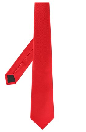 Мужской шелковый галстук LANVIN красного цвета, арт. 1302/TIE | Фото 2
