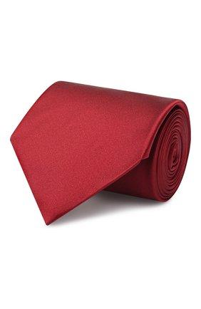 Мужской шелковый галстук LANVIN бордового цвета, арт. 1282/TIE   Фото 1