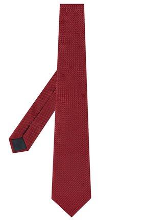 Мужской шелковый галстук LANVIN бордового цвета, арт. 1208/TIE | Фото 2