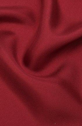 Мужской шелковый платок LANVIN бордового цвета, арт. 5738/HANDKERCHIEF | Фото 2