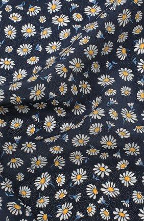 Мужской шелковый платок LANVIN синего цвета, арт. 2915/HANDKERCHIEF | Фото 2