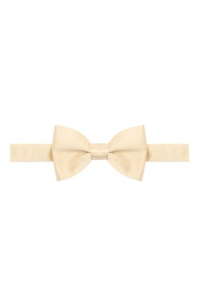 Мужской шелковый галстук-бабочка LANVIN бежевого цвета, арт. 1282/B0W TIE | Фото 1