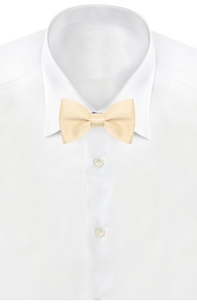 Мужской шелковый галстук-бабочка LANVIN бежевого цвета, арт. 1282/B0W TIE | Фото 2