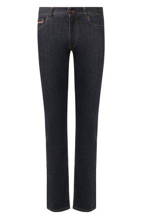 Мужские джинсы CANALI темно-синего цвета, арт. 91717A/PD00018 | Фото 1