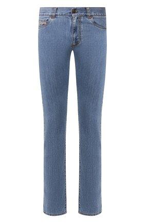 Мужские джинсы CANALI голубого цвета, арт. 91717A/PD00018 | Фото 1