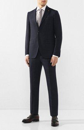Мужской шерстяной костюм SARTORIA LATORRE синего цвета, арт. A6I7EF Q71114 | Фото 1